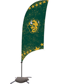 North Dakota State Bison 7.5 Foot Cross Base Tall Team Flag