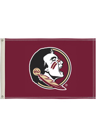 Florida State Seminoles 2x3 Maroon Silk Screen Grommet Flag