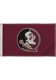 Florida State Seminoles 3x5 Maroon Silk Screen Grommet Flag