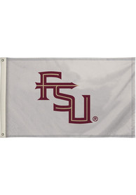Florida State Seminoles 3x5 White Silk Screen Grommet Flag