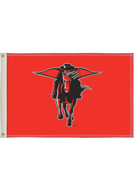 Texas Tech Red Raiders 2x3 Red Silk Screen Grommet Flag