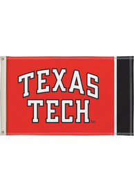 Texas Tech Red Raiders 3x5 Red Silk Screen Grommet Flag