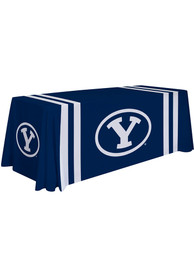 BYU Cougars 6 Ft Fabric Tablecloth