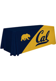 Cal Golden Bears 6 Ft Fabric Tablecloth