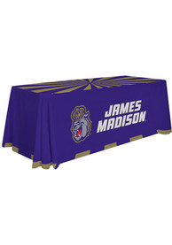 James Madison Dukes 6 Ft Fabric Tablecloth