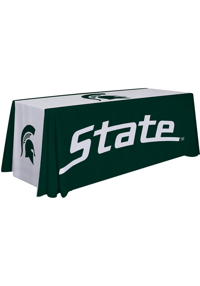 Michigan State Spartans 6 Ft Fabric Tablecloth - Image 1