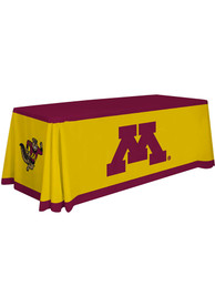 Minnesota Golden Gophers 6 Ft Fabric Tablecloth