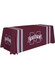 Mississippi State Bulldogs 6 Ft Fabric Tablecloth