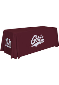 Montana Grizzlies 6 Ft Fabric Tablecloth
