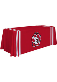 South Dakota Coyotes 6 Ft Fabric Tablecloth