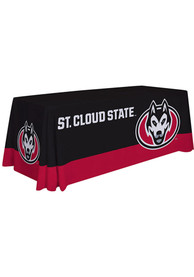 St Cloud State Huskies 6 Ft Fabric Tablecloth
