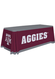 Texas A&M Aggies 6 Ft Fabric Tablecloth
