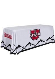 Utah Utes 6 Ft Fabric Tablecloth