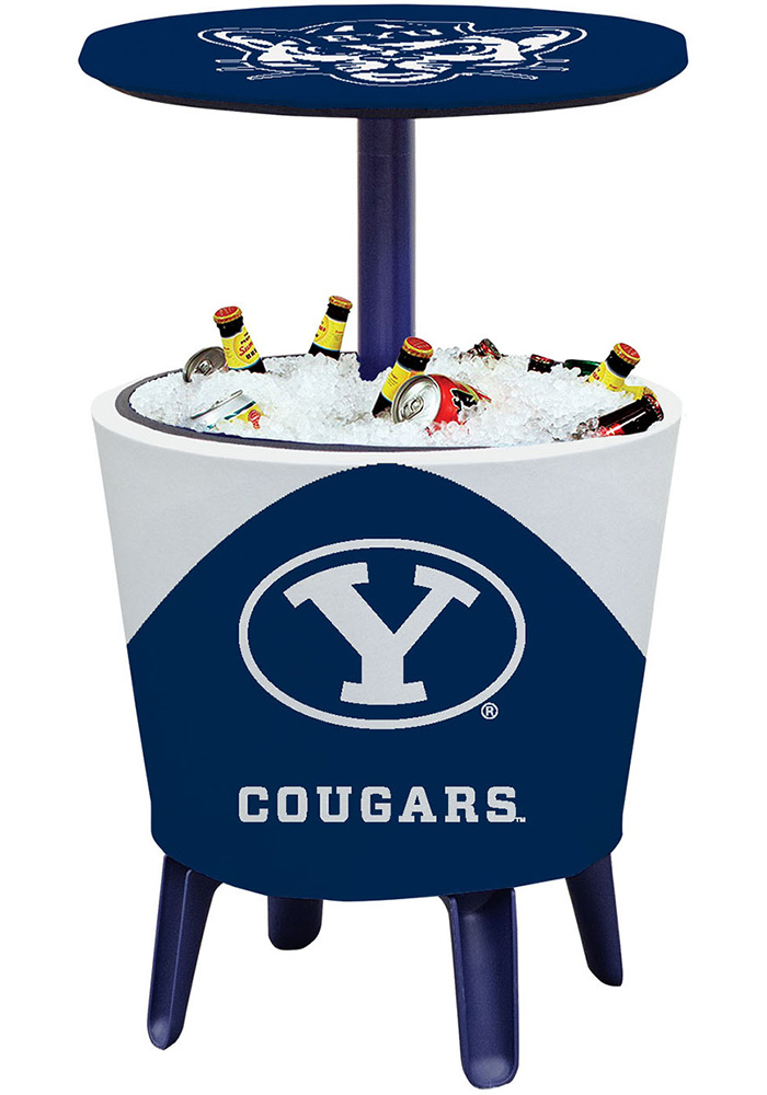 BYU Cougars Table Cooler - Image 1