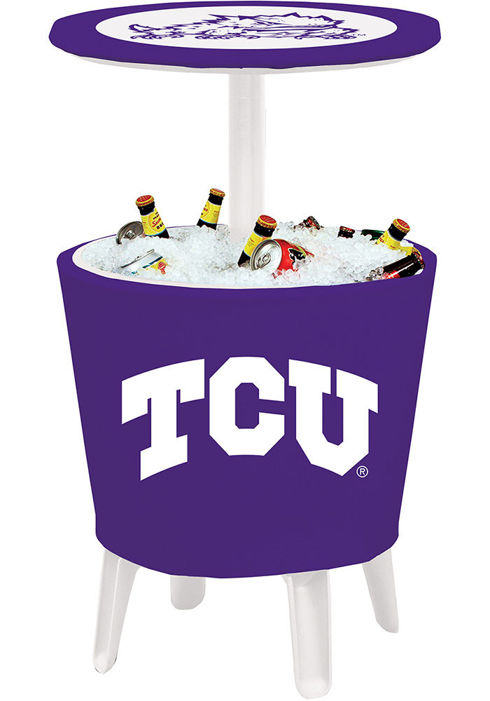 TCU Horned Frogs Table Cooler - Image 1