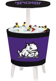 TCU Horned Frogs Table Cooler