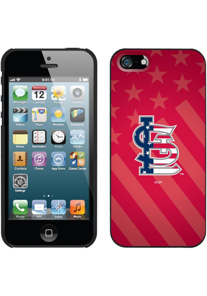 St Louis Cardinals Stars and Stripes Phone Cover - Image 1