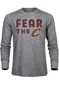 Cleveland Cavaliers Grey Fear The Fashion Tee