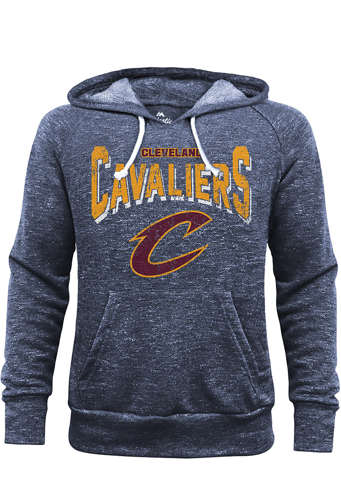 Cleveland Cavaliers Mens Navy Blue Layup Fashion Hood - Image 1