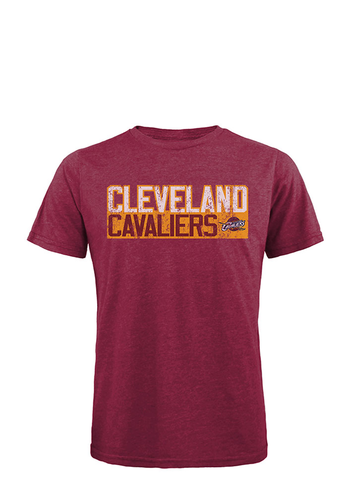 Kevin Love Cleveland Cavaliers Mens Maroon Verticle Short Sleeve Fashion Player T Shirt - Image 2