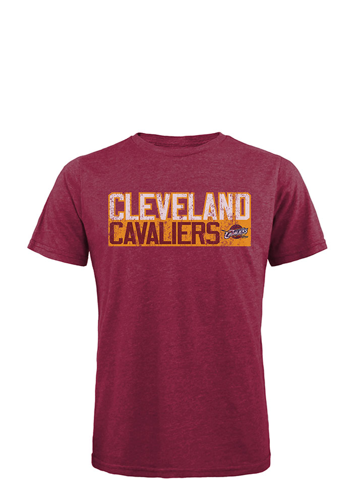 LeBron James Cleveland Cavaliers Mens Maroon Player Tee Short Sleeve Fashion Player T Shirt - Image 2