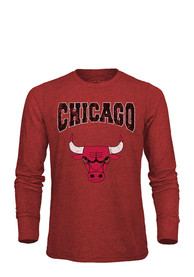 Chicago Bulls Red City Over Fashion Tee