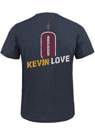 Kevin Love Cleveland Cavaliers Navy Blue Record Holder Fashion Player Tee