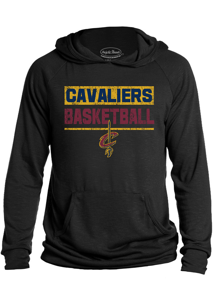 Cleveland Cavaliers Mens Black Game Time Fashion Hood