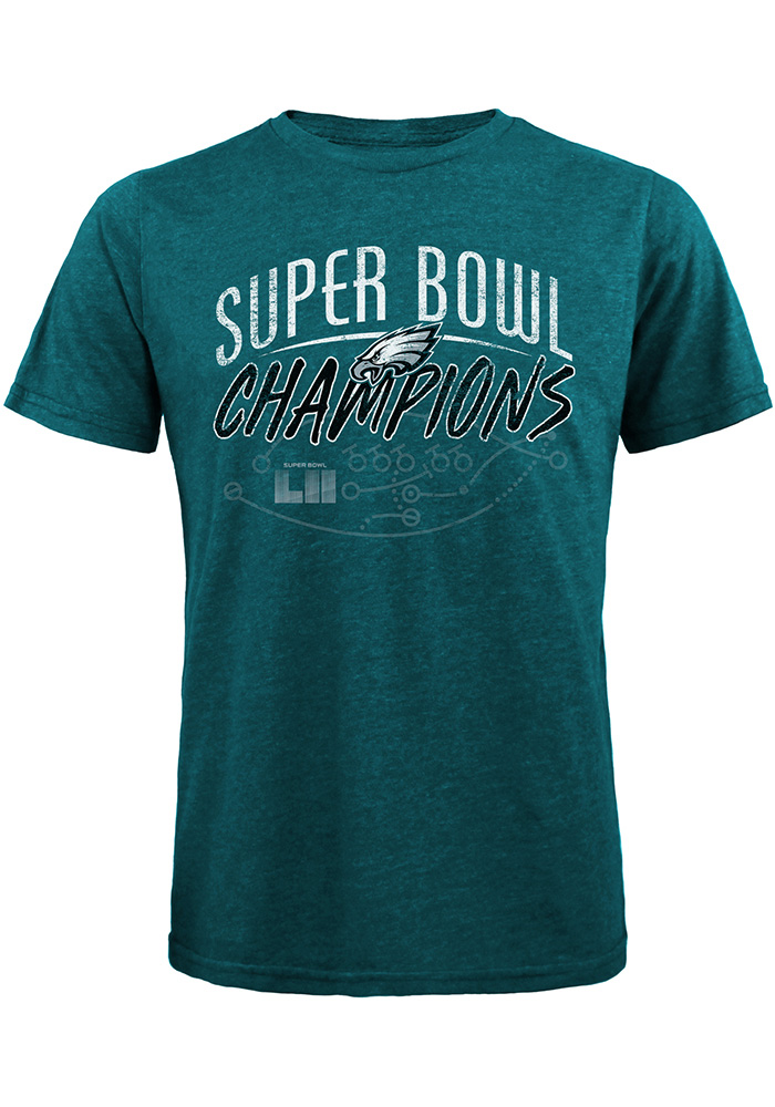Philadelphia Eagles Green Philly Special Short Sleeve Fashion T Shirt - Image 1