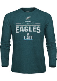 check out 74bc4 313d0 Philadelphia Eagles Teal Goal Line Stand Fashion Tee
