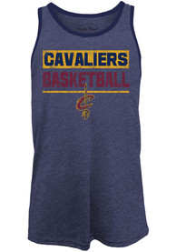Cleveland Cavaliers Mens Navy Blue Game Time Tank Top