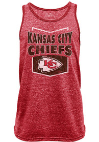 Kansas City Chiefs The Effect NFL Red Tank Top - Red