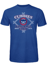 Chicago Cubs Blue Bases Loaded Fashion Tee