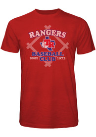 Texas Rangers Red Bases Loaded Fashion Tee