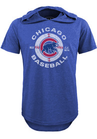 Chicago Cubs Bball Classic Fashion Hood - Blue