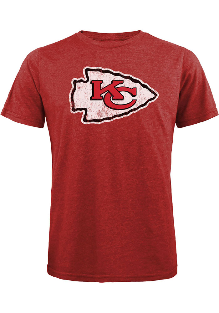 Patrick Mahomes Kansas City Chiefs Red Name & Number Short Sleeve Fashion Player T Shirt - Image 2
