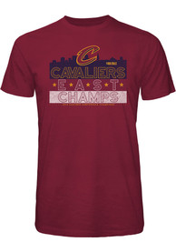 Cleveland Cavaliers Maroon Hometown Champs Fashion Tee