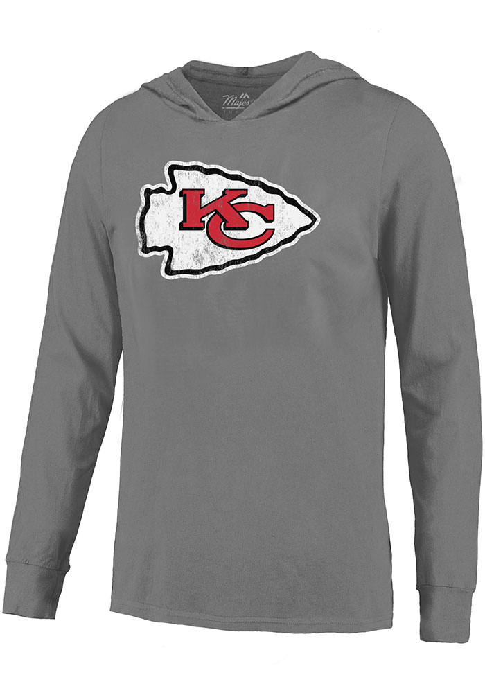 Patrick Mahomes Kansas City Chiefs Mens Grey Primary N&N Player Hood - Image 2