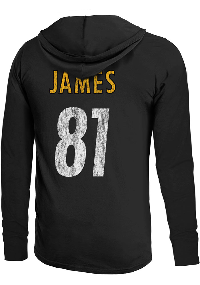 4da6fb174f5 Jesse James Pittsburgh Steelers Mens Black Primary N N Player Hood