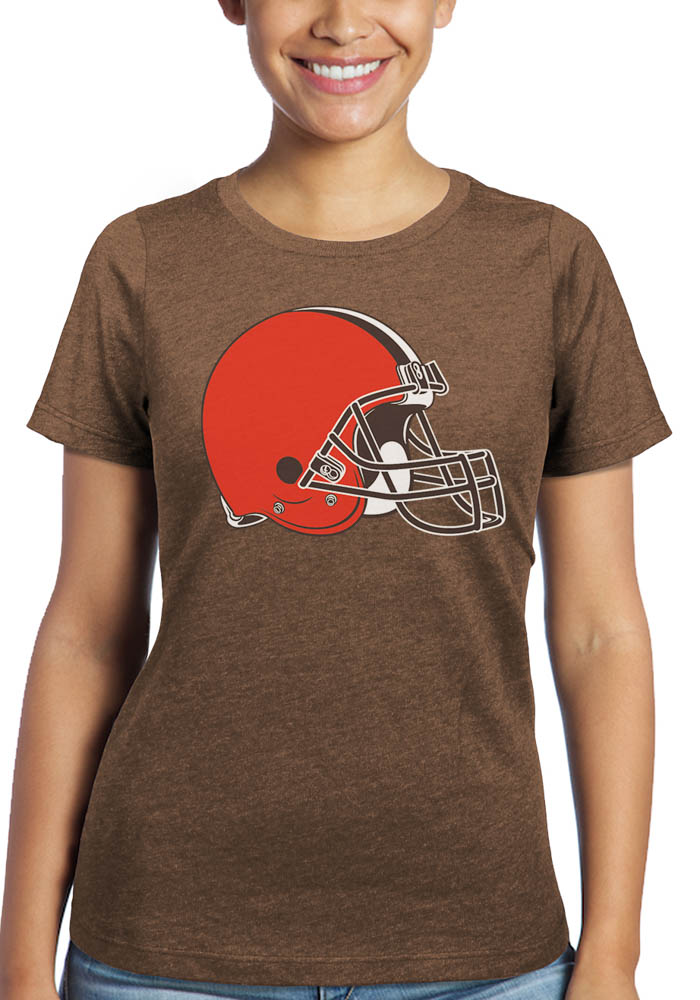 Baker Mayfield Cleveland Browns Womens Brown N&N Triblend Player T-Shirt - Image 2
