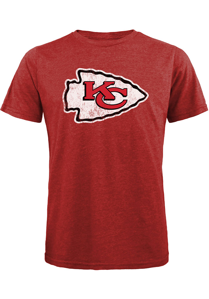 Tyrann Mathieu Kansas City Chiefs Red Name And Number Short Sleeve Fashion Player T Shirt - Image 2