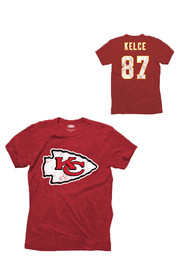Women's Kansas City Chiefs Nike Red Local Tri-Blend T-Shirt