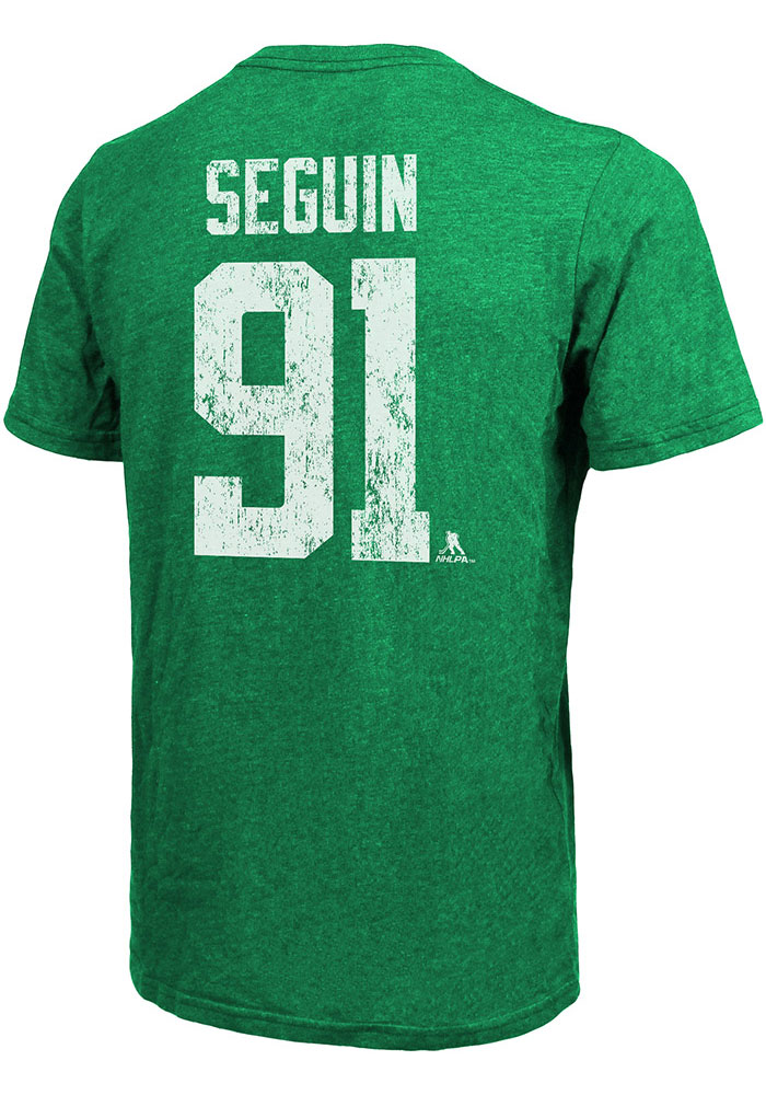 Tyler Seguin Dallas Stars Kelly Green Primary Player Short Sleeve Fashion Player T Shirt - Image 1