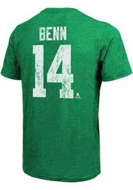 Jamie Benn Dallas Stars Majestic Threads Primary Player T-Shirt - Kelly Green