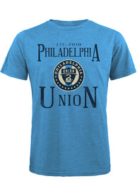 Philadelphia Union Established Fashion T Shirt - Light Blue