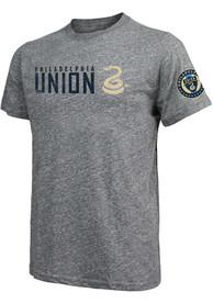 Philadelphia Union Wordmark Fashion T Shirt - Grey