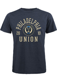Philadelphia Union BALL HOG Fashion T Shirt - Navy Blue