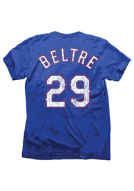 Adrian Beltre Texas Rangers Blue Tri-Blend Fashion Player Tee