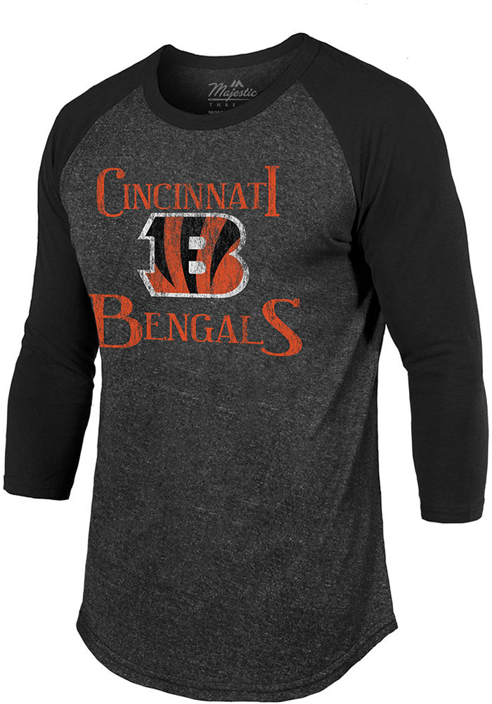 Cincinnati Bengals Black Ragaln Fashion Tee