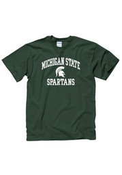 Michigan State Spartans Green Classic Text Tee